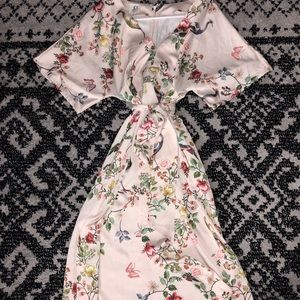 db5f1256a72db Anthropologie Dresses | Dra Los Angeles Avian Kimono Midi Dress ...